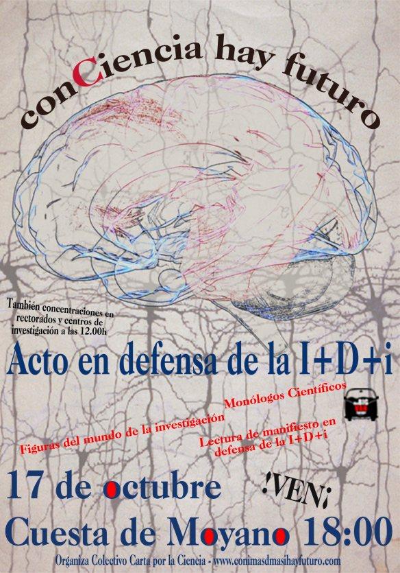 Cartel de concentraciones 17 octubre 2014